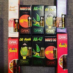 Dank Vapes OG Premium Dank vapes full gram cartridge gelato cartridge