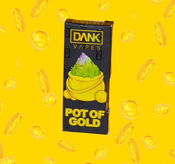Dank Vape Pot of Gold vape green crack vape cartridge gsc dank vape