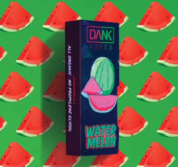Dank Vapes WaterMelon flavor dank vapes official dank vapes official account